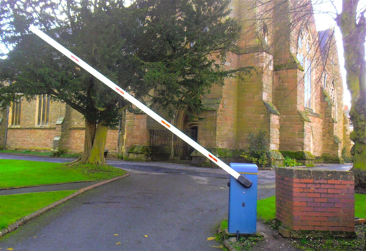 church barrier